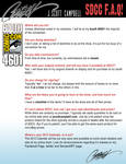 SDCC J. Scott Campbell F.A.Q. Sheet