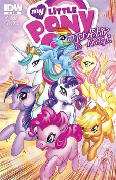 My Little Pony Ish3 variant cover