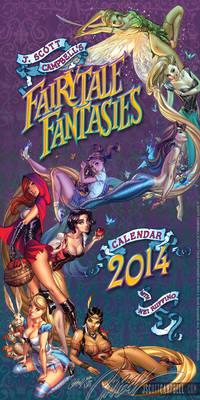 FairyTale Fantasies 2014 calendar cover