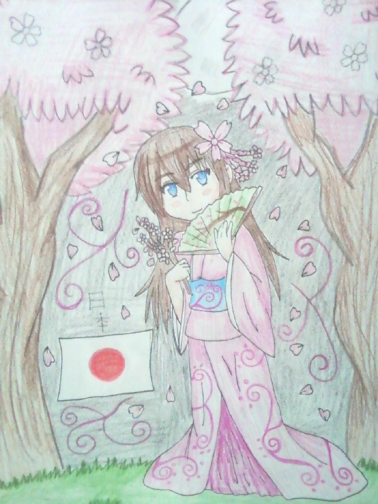 Commission: Princess Yuna Sakura by Spirit-Okami