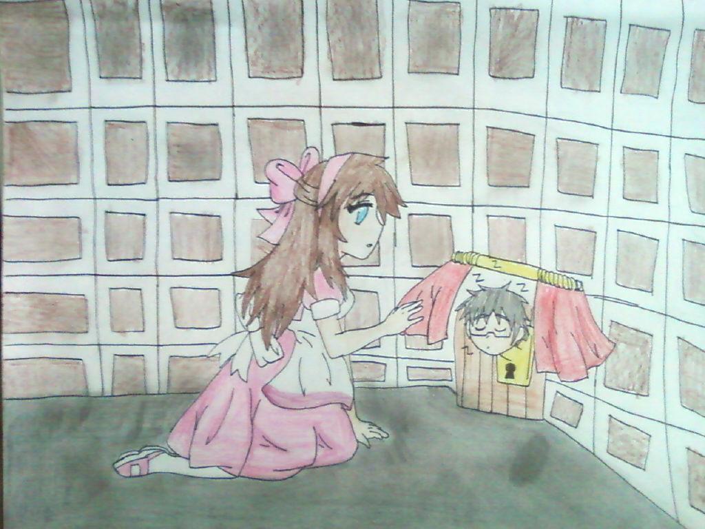 .:Commission:.Yuna: Much too big by Spirit-Okami