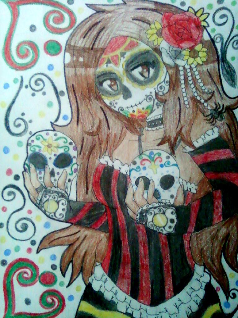APH:Mexico:Dia De Los Muertos by Spirit-Okami