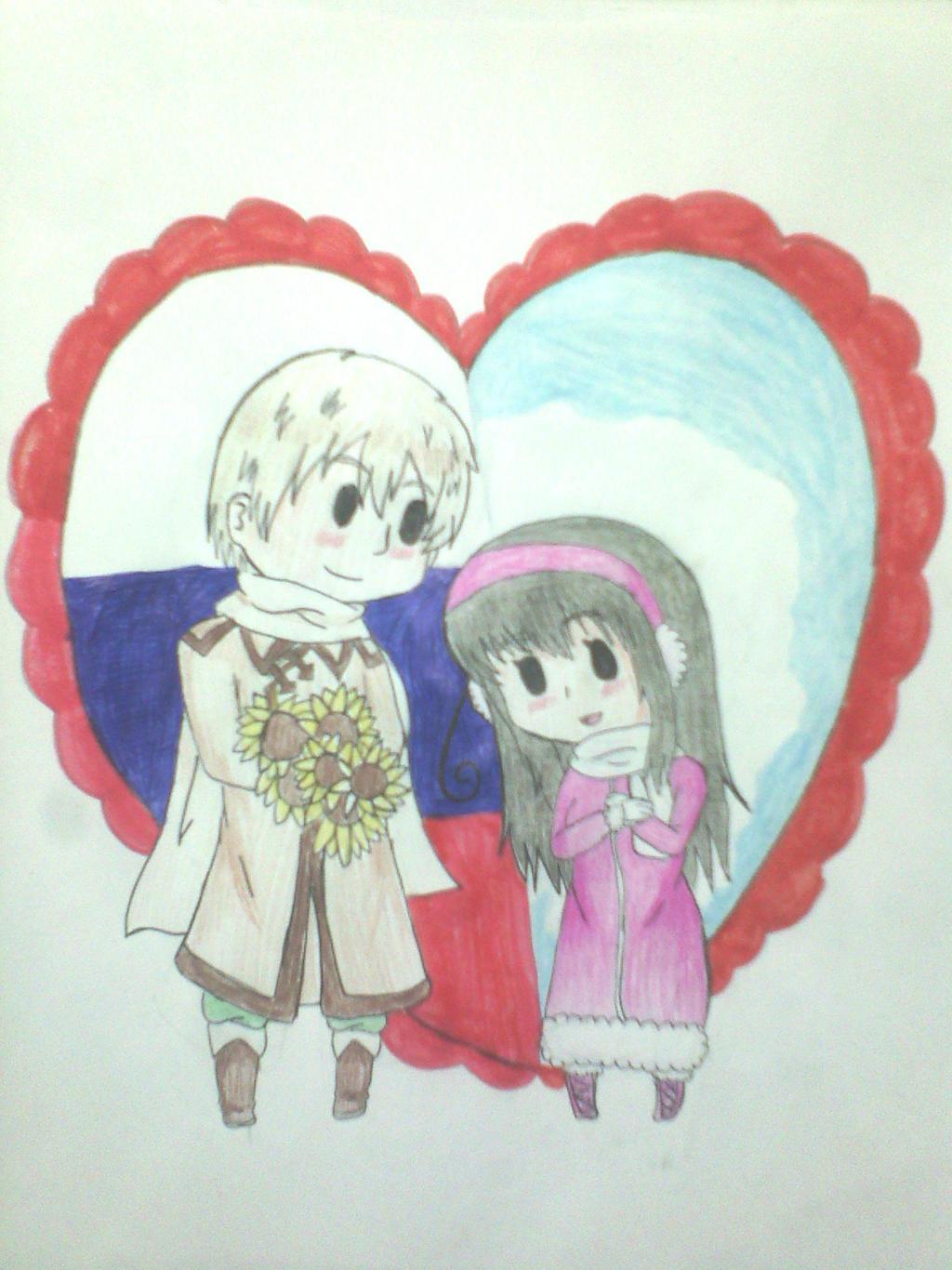 .:Gift:. Chibi Russica by Spirit-Okami