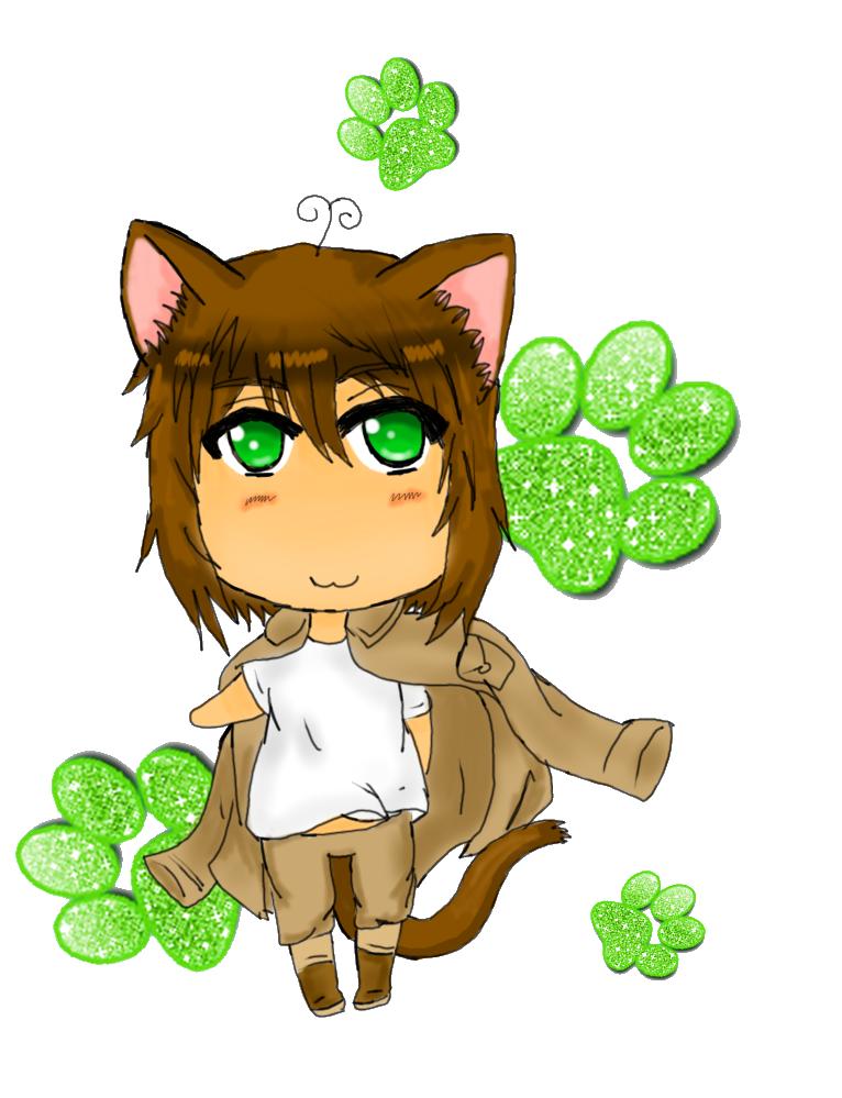 Chibi Cat Greece by Spirit-Okami