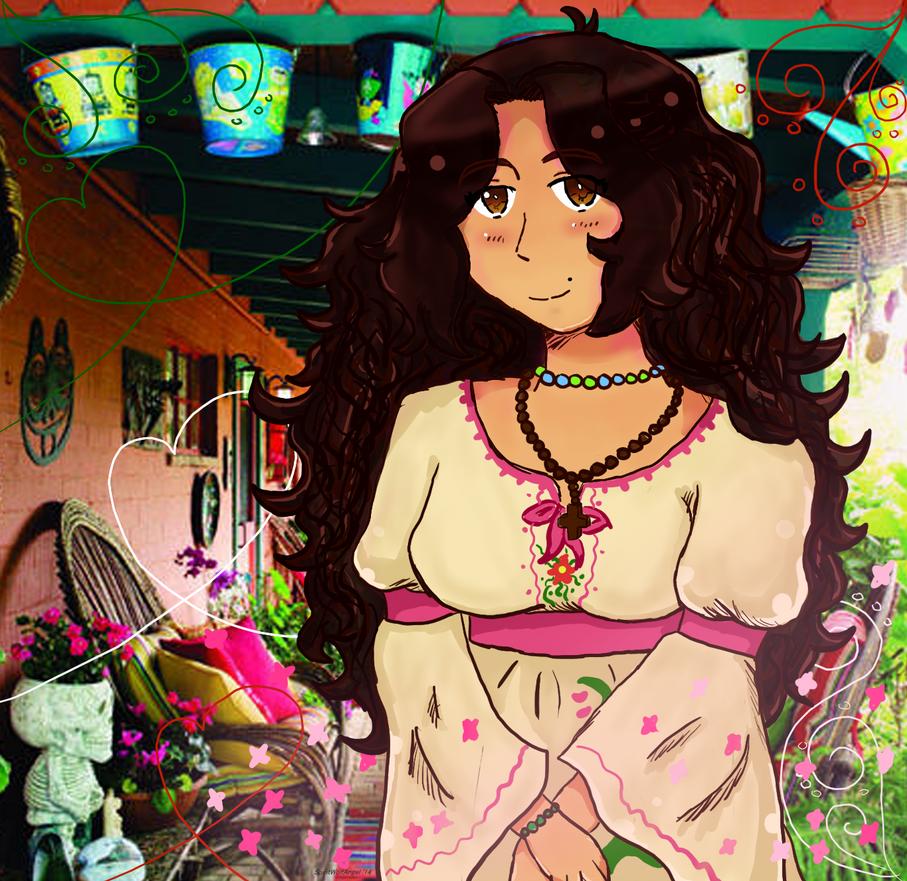{{Gift}}Raquel by Spirit-Okami