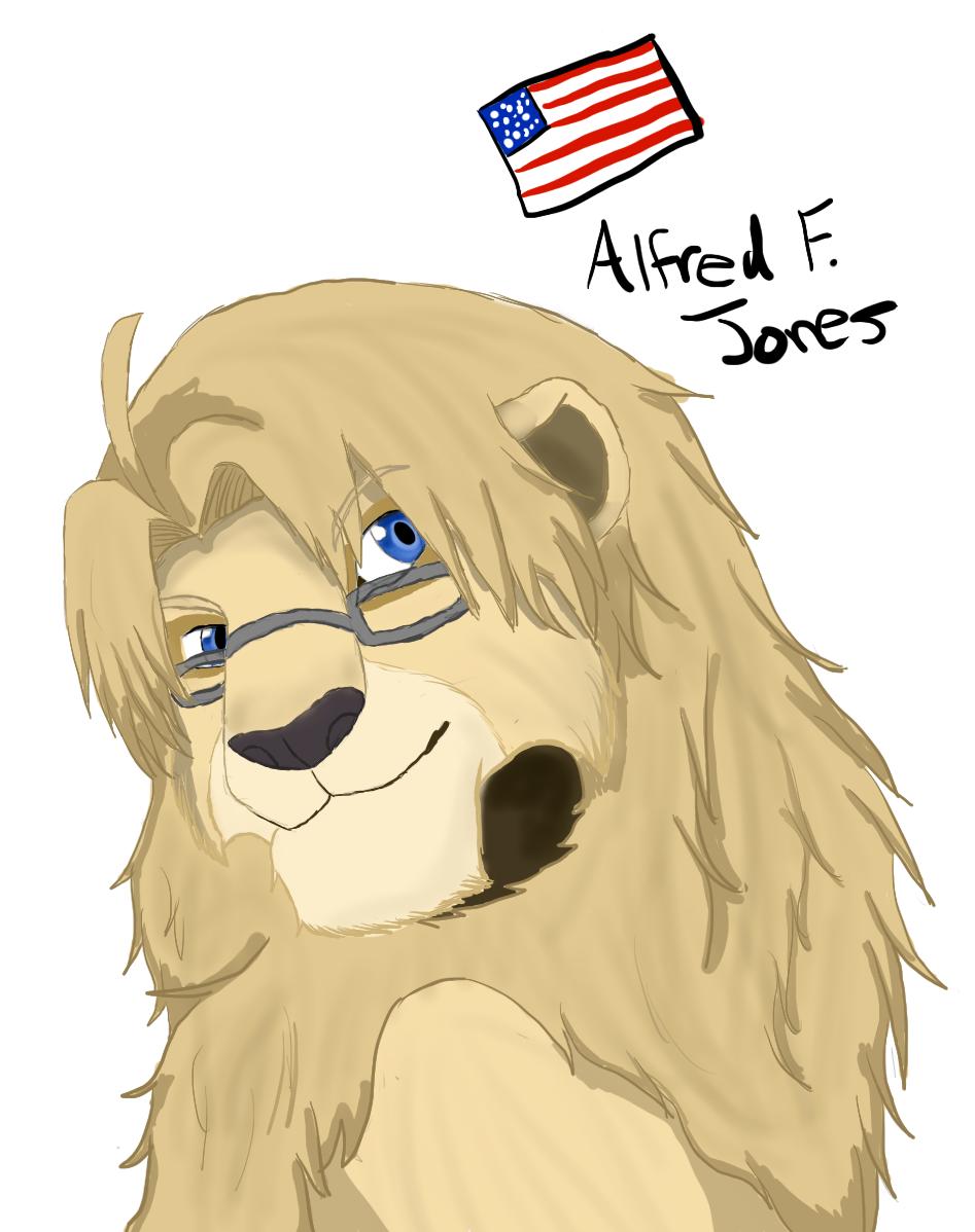 {Lion}Alfred F. Jones by Spirit-Okami