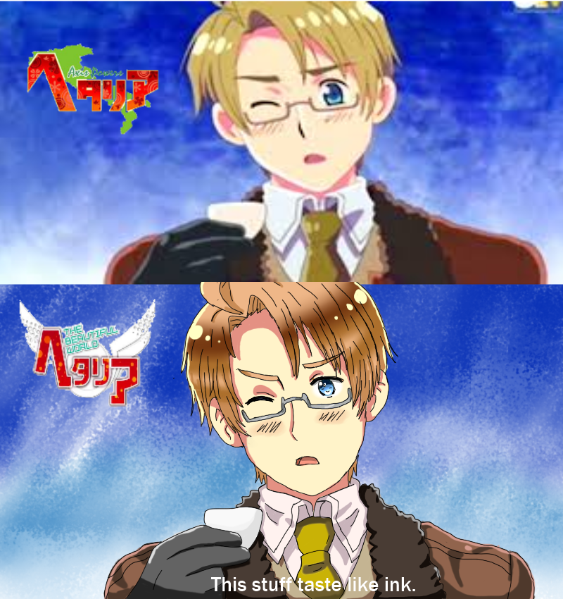 APH America: Screen shot style/meme by Spirit-Okami