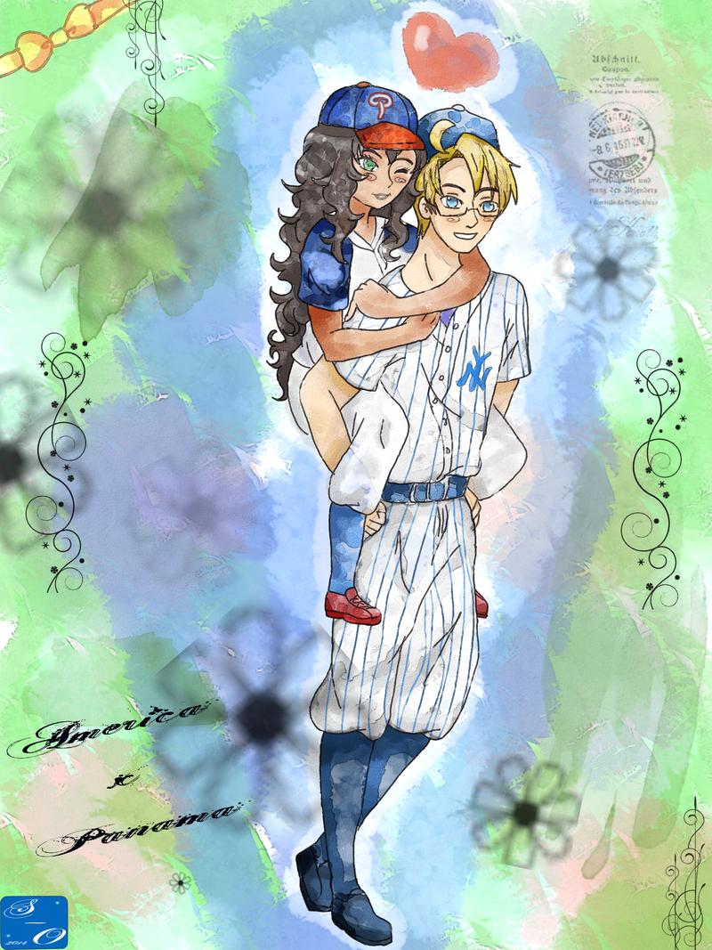 APH: Baseball babes by Spirit-Okami