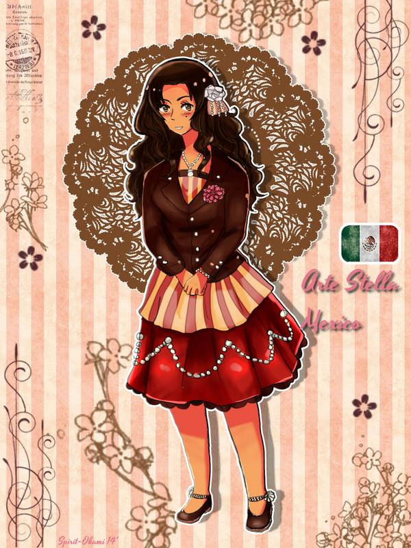 APH: Arte Stella Mexico by Spirit-Okami