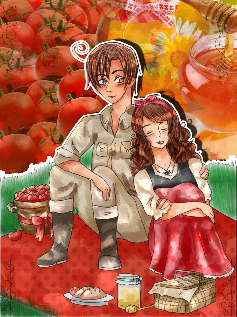 AT: APH Romano x Malta by Spirit-Okami