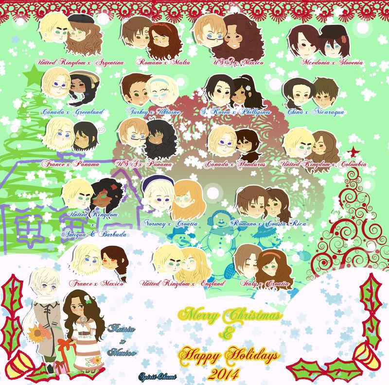 APH: Merry Christmas by Spirit-Okami