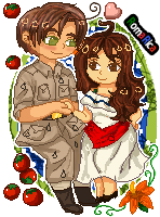 .:Com:. APH Pixel RomaRica by Spirit-Okami