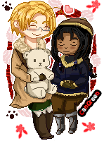 .:Com:. APH Pixel Cangreen by Spirit-Okami