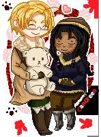 .:Com:. APH Pixel Cangreen by Spirit-Okami