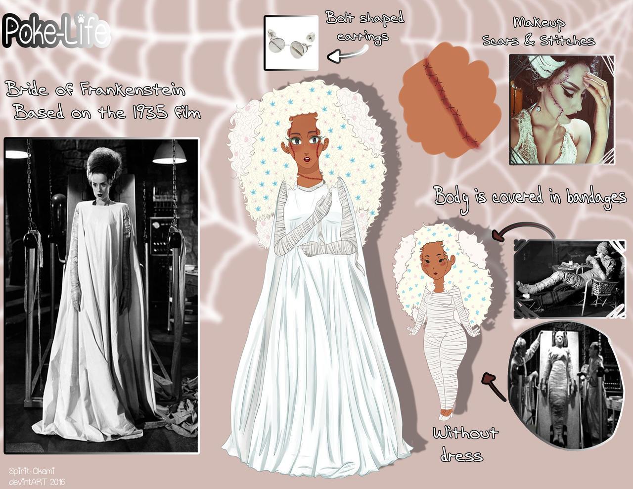 [P-L] Bride of Frankenstein by Spirit-Okami