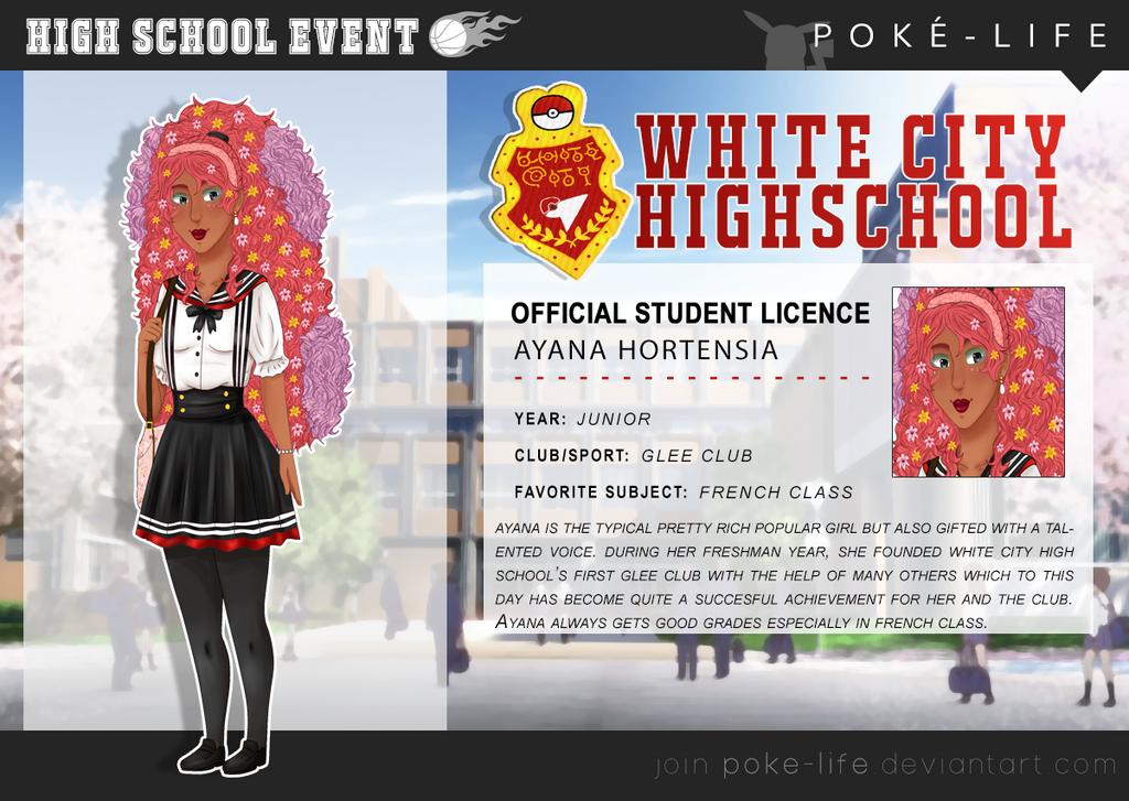 High School Au Ayana Template by Spirit-Okami