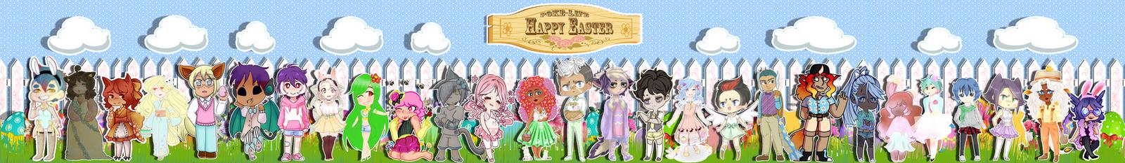 Poke-Life Happy Easter by Spirit-Okami