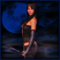 Huntress of the Night by SpyKittie