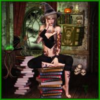 Oooooh Witchy by SpyKittie