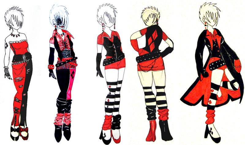 Harley Quinn Outfit Ideas by Keeji-d