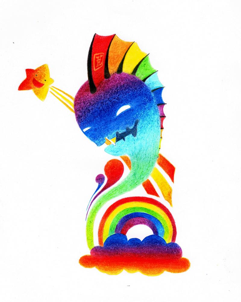 Rainbow overload by Oo-bea95-oO