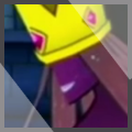 Paper Mario Shadow Queen xat icon by MikeDarko