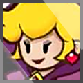 Paper Mario Shadow Queen xat icon 2 by MikeDarko
