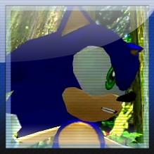 Sonic Adventure 2: Sonic Skype avatar by MikeDarko