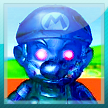 Super Mario Sunshine: Shadow Mario Skype avatar by MikeDarko