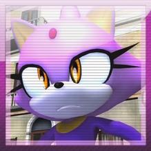 Sonic 06: Blaze Skype avatar by MikeDarko