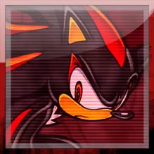 Sonic Adventure 2: Shadow Skype avatar by MikeDarko