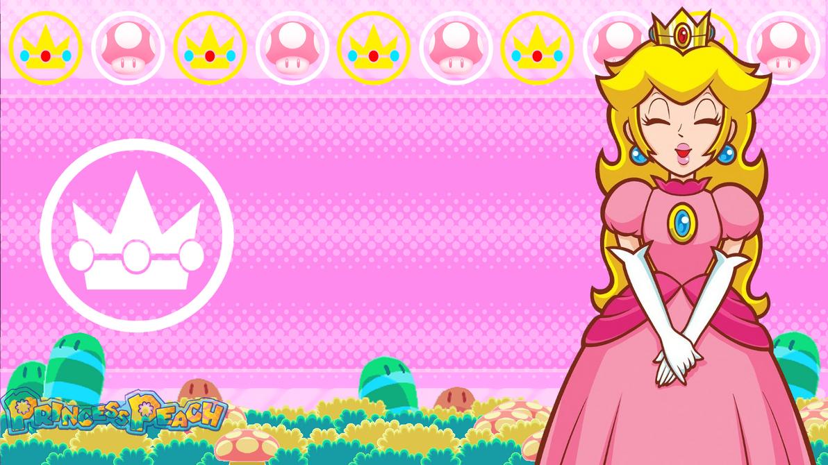 Nintendo: Princess Peach wallpaper by MikeDarko on DeviantArt