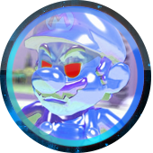 Super Mario Sunshine: Shadow Mario kik avatar by MikeDarko
