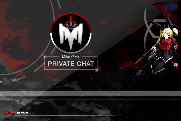 MikeDarko: Private chat back by MikeDarko