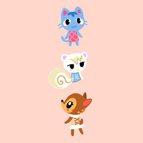 Animal Crossing Villager Doodles By Loreleiwave On Deviantart