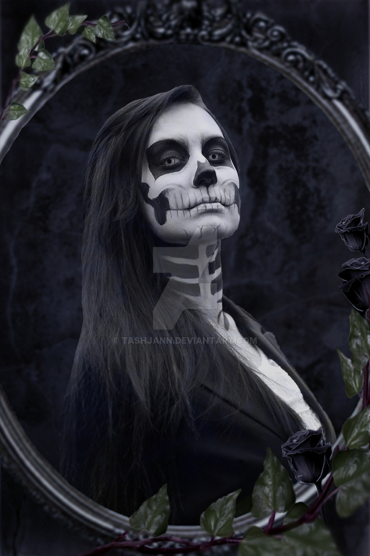 Portrait of Deaths Wife by TashJann