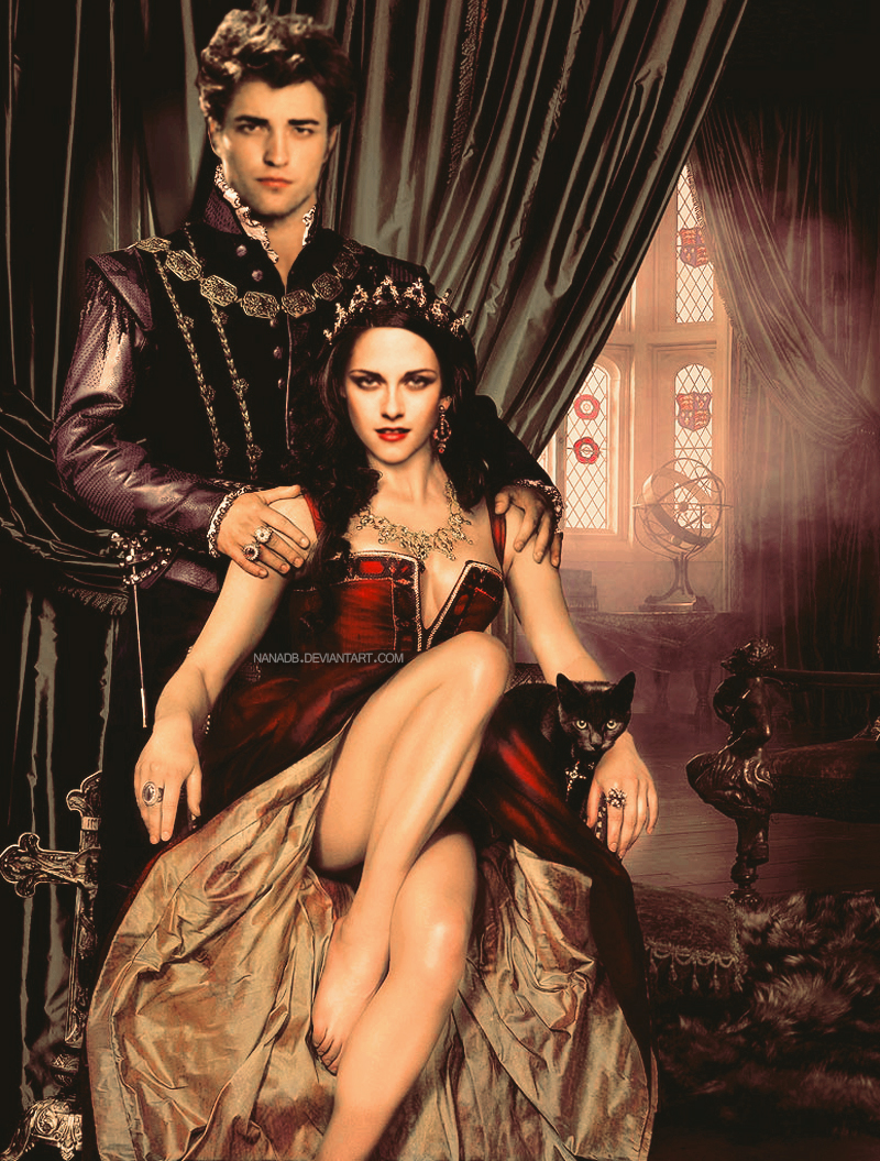 King and Queen of England by nanadb