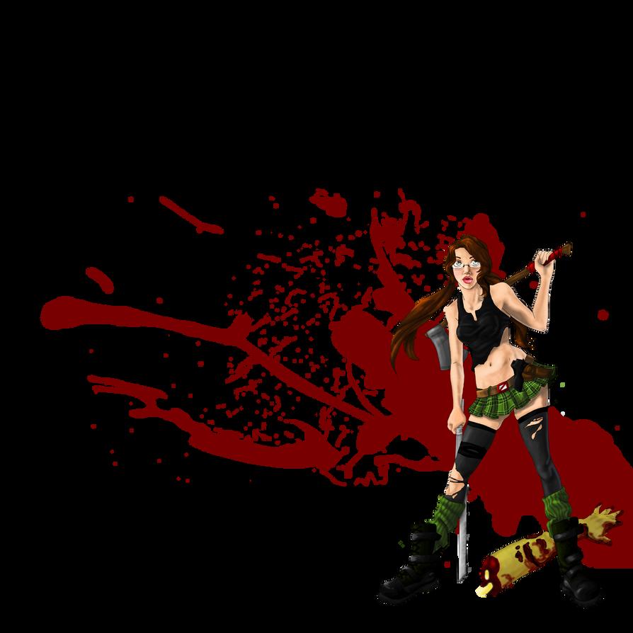 Zombie Slayer By Kitrianak