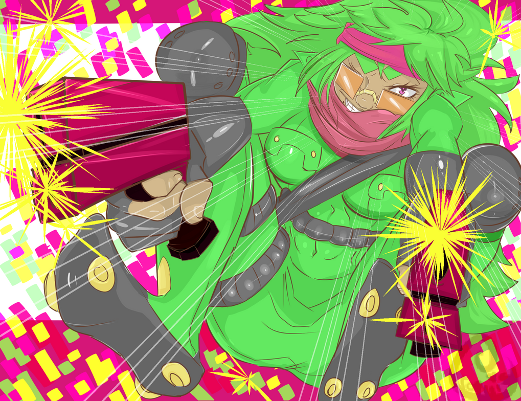 BANG BANG INTO THE ROOM by UltimateSketchQueen