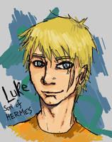 LUKE - son of HERMES by wolf-nightmare