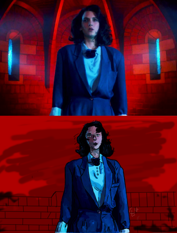 Heathers Screenshot Redraw by CelestialLeopard