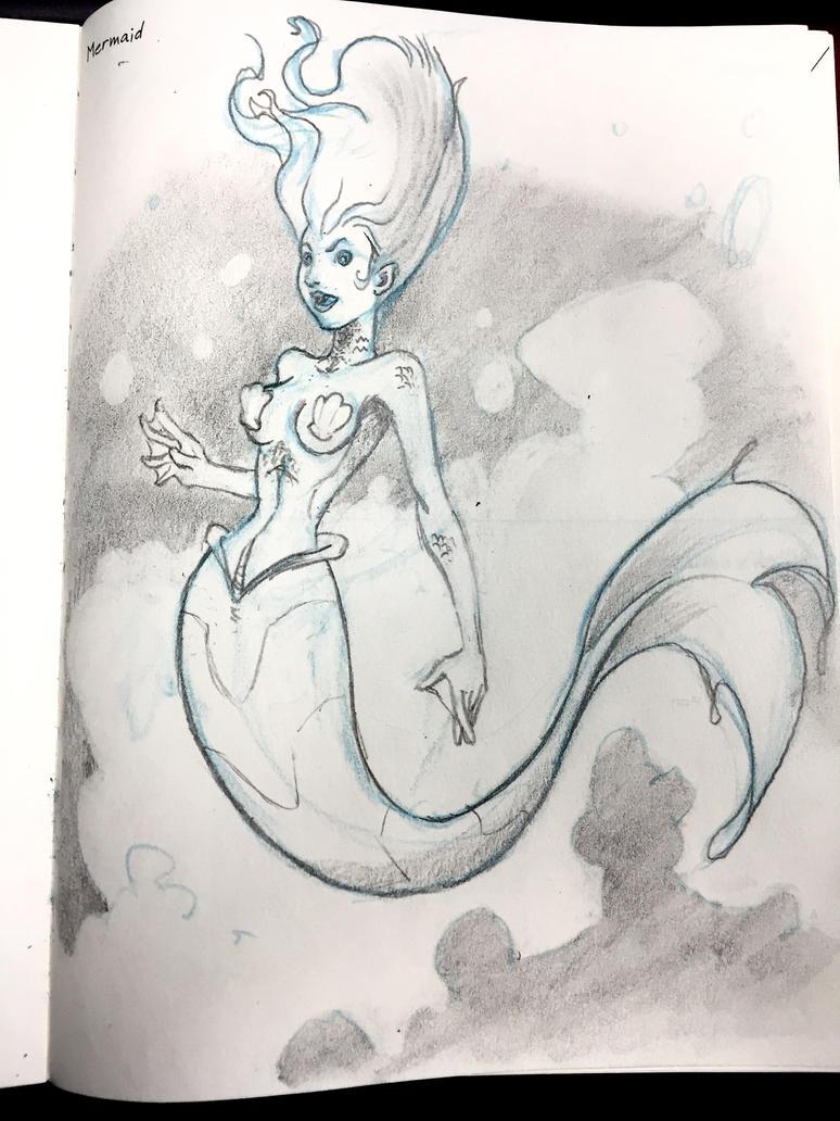 Mermaid by DRWaldbrunn