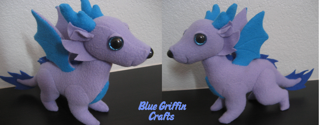 Dragon Dog Plush Commission