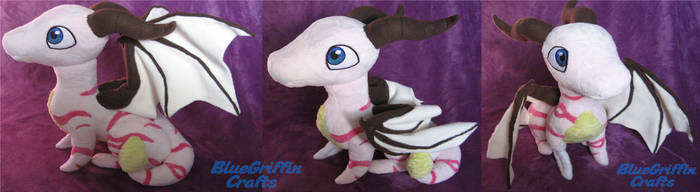 Kayla Dragon Plush by BlueGriffinCrafts