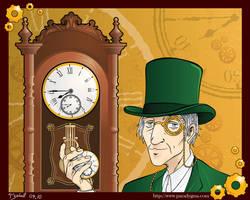 Mr. Clock by Yzabel
