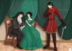 Commission: Courtship