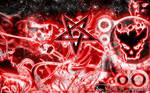 Satanic Abstract Storm
