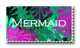 Mermaid Stamp by BubbleSwallower