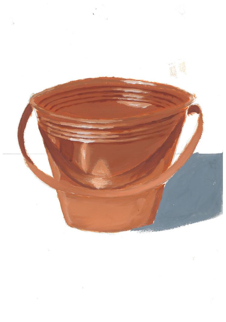 Oil bucket by ralphire