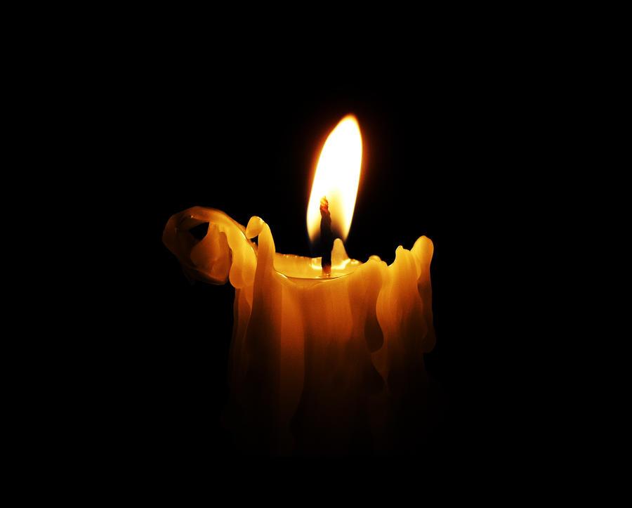 عکس+شمع+درحال+اب+شدن